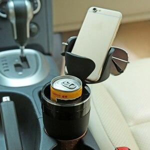 Image 1 - רכב מחזיק כוס שתיית בקבוק מחזיק משקפי שמש טלפון ארגונית Stowing לסדר עבור אוטומטי רכב סטיילינג אביזרי עבור bmw לאדה