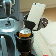Uchwyt na kubek samochodowy butelka do picia uchwyt okulary telefon organizator układanie Tidying dla Auto akcesoria samochodowe do stylizacji dla bmw lada