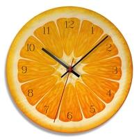 QMJHVX Holz Obst Wanduhr Cartoon Wassermelone Kiwi Zitrone Orange Uhr Wohnzimmer Studie Korridor Hause Dekoration saat