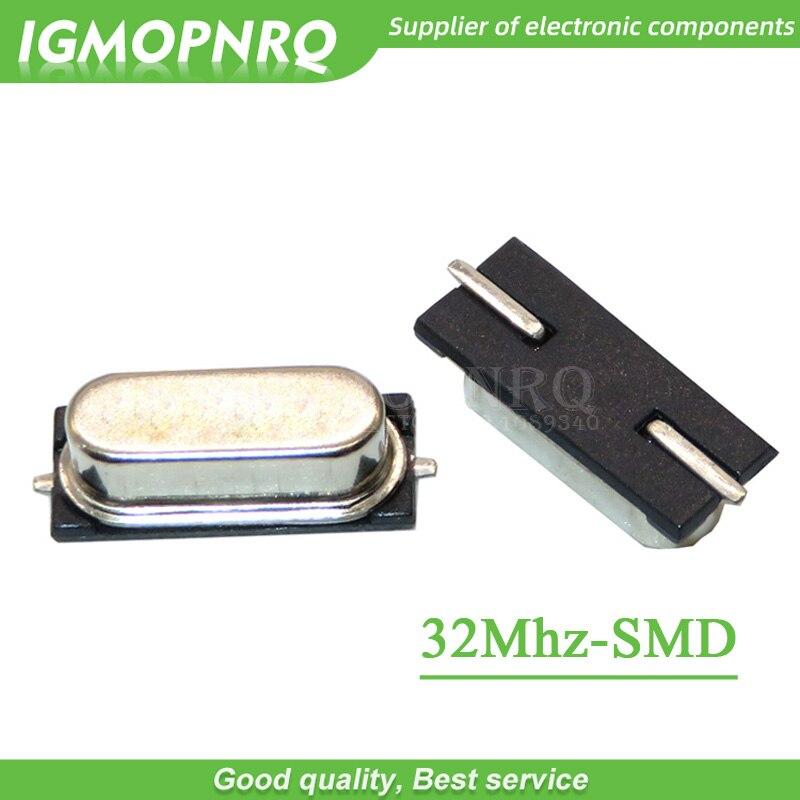10 un 49SMD-2Pin pasivo Oscilador de Cristal 12.288 M Hz 12.288 MHz ± 20ppm 20PF