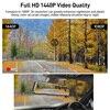 E-ACE A37 Car Dvr 10.0 Inch Rear View Mirror 2K Dash Cam 1080P Car Camera With Rear View Camera Video Recorder Registrar Dvrs 3