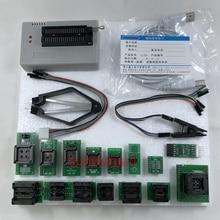 Black Edition V 10,27 XGecu TL866II Plus USB Programmierer 15000 + IC SPI Flash NAND EEPROM MCU PIC AVR + 15PCS ADAPTER + SOIC8 Testclip