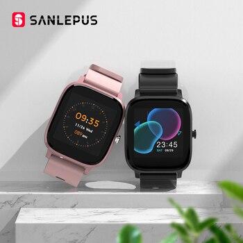2020 SANLEPUS Smart Watch Sport Heart Rate Monitor Waterproof Fitness Bracelet Men Women Smartwatch For Android Apple Xiaomi GTS