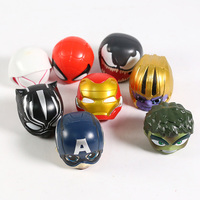 Superheroes Avengers Set of 8 Toys with Removable Heads 6