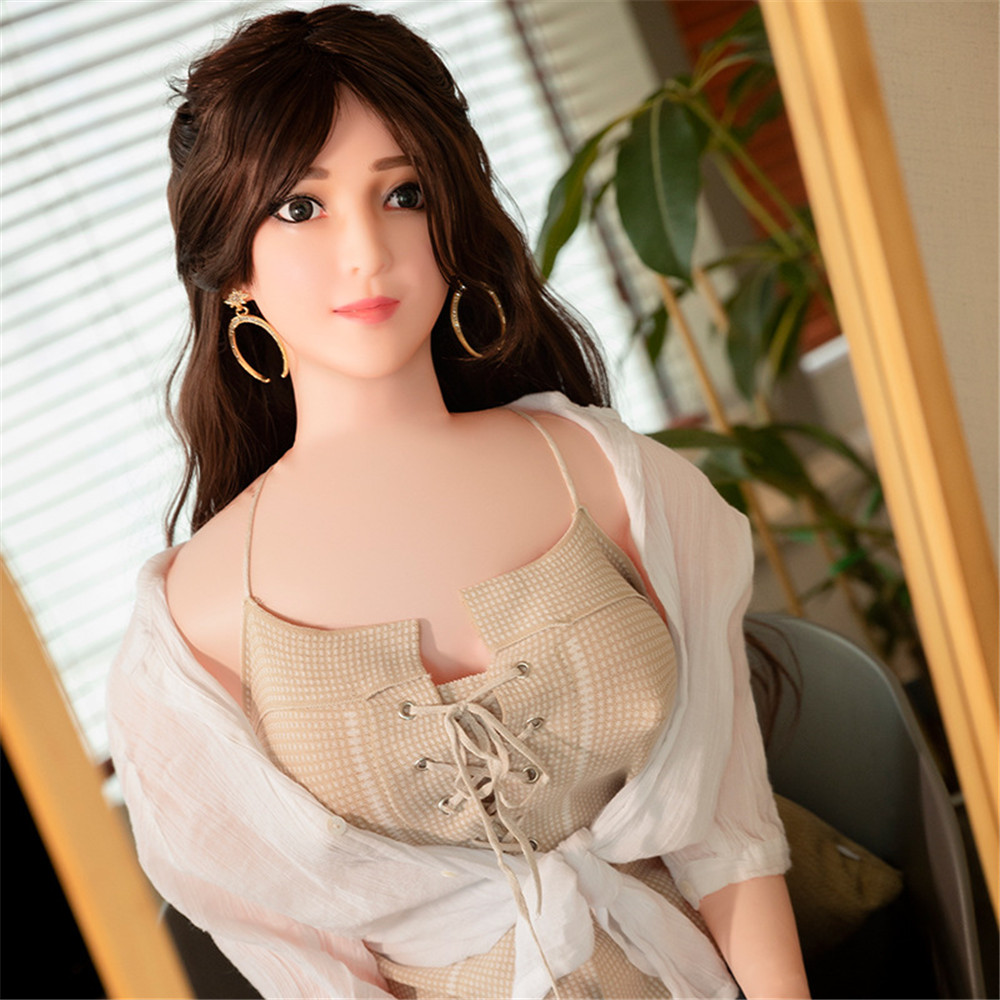 150cm Inflatable Realistic Sex Dolls for Man Silicone Top Skeleton Love Doll Japanese Anime Wig Vagina Pussy Big Breast Sex Toys