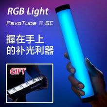 Nanlite PavoTube II 6C RGB, Tube LED Portable, lumière douce et colorée, éclairage pour photographie, Mode CCT, Photos