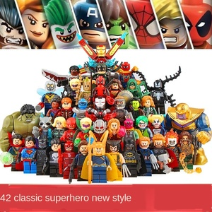 42 pcs superheroes collection Iron Man MK building figures assembled minifigures boys 4-12 years old compatible Figurines