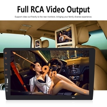 2 Din Car Radio 9 Inch Full Press Mirror Link Car Stereo Pla