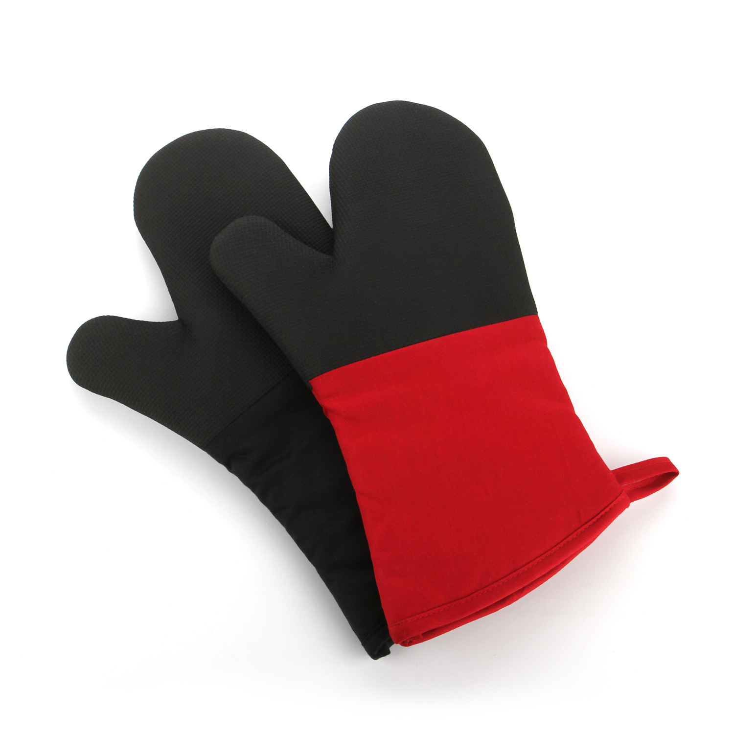 [Insulated King] Specialized Households Required High-End Microwave Oven Gloves Reddish Black Bakery Oven Insulation Gloves Only