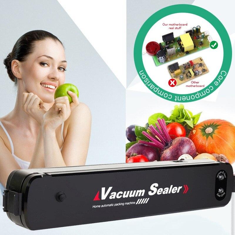 Household Food Vacuum Packaging Machine Small Vacuum Sealing Machine Automatic Food Laminating Machine Fresh Bag Sealing Device