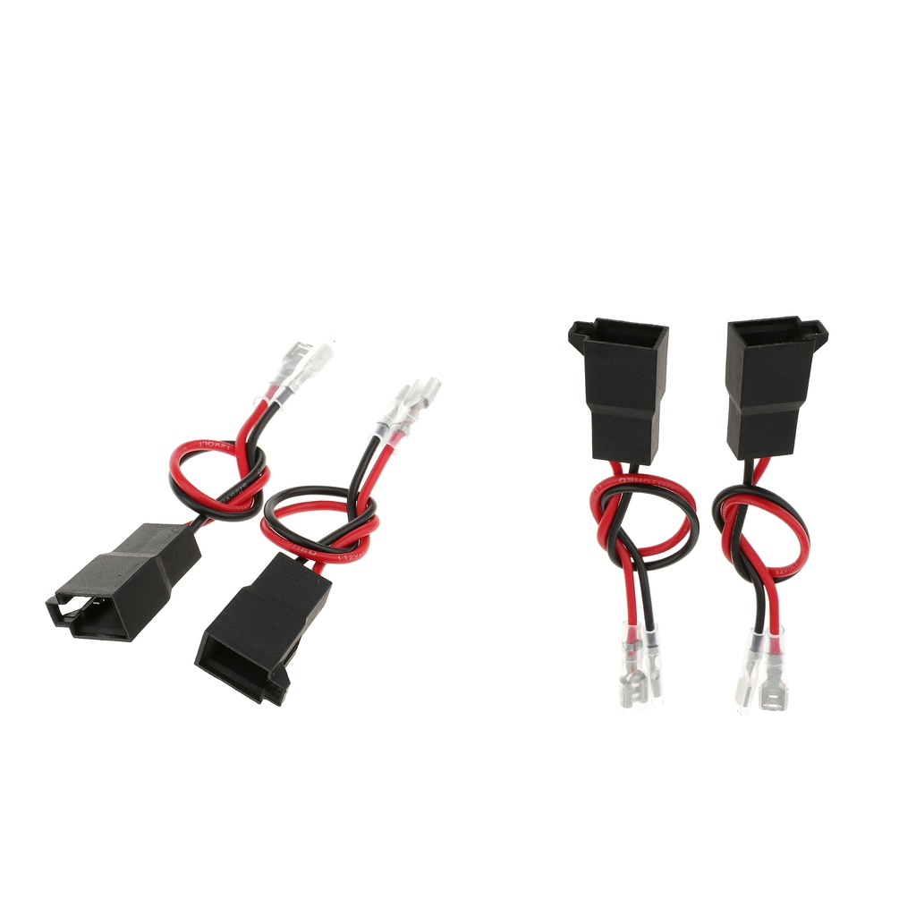 4 Pieces Car Audio Speaker Wire Harness Connector For VW AUDI Renault Nissan