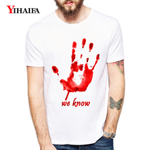 Fashion T-Shirt Men Women 3D Print Hand Painted Letters Graphic Tees Casual White Tee Shirts Unisex Summer Tops