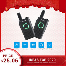 RETEVIS RT618 PMR Walkie Talkie Pair Handy Two Way Radio Walkie Talkie Walkie 2pcs Wakie Talkie Radio 2W(China)