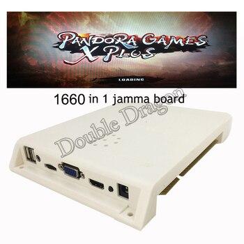 pandora 999/1660/2600 in 1  game pcb board arcade cartridges HDMI VGA for LCD & CGA for CRT Horizontal arcade arcade jamma board game box coin operated controller pbc 3d kids hd video arcade version hdmi vga cga 2600 in 1 for pandora