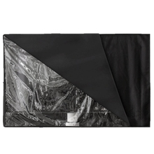 Outdoor TV Cover with Transparent Front Cover Bottom Cover Waterproof Dust Proof