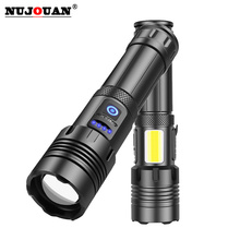 Super bright LED Flashlight 5 lighting modes Torch for Night Riding Camping Hiking Hunting Indoor Activities rechargeable 18650