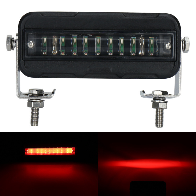Manufacturers Selling 27 W Forklift Light Red Light Engineering Modification LED Lamp Auxiliary Lighting Lamp