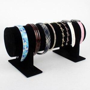 Velvet T-Bar Headband Holder R