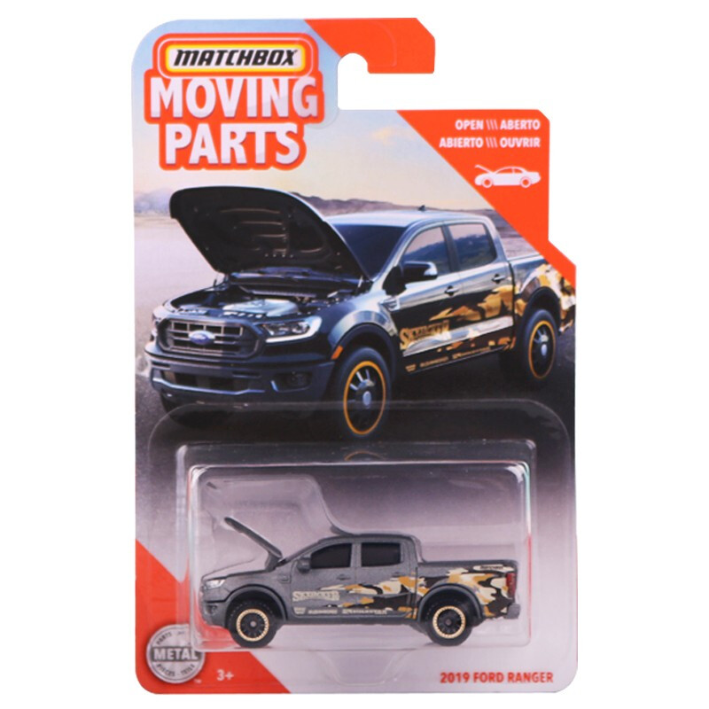 2020 Matchbox 1:64 Car 2019 FORD RANGER  Collective Edition Metal Diecast Car Alloy Model Car Kids Toys Gift
