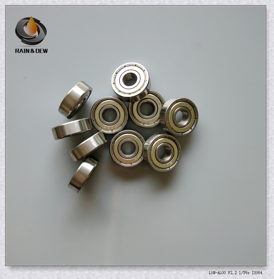 10Pcs 608ZZ Bearing 8x22x7 mm ABEC-7 Inline Roller Skate Wheel Bearing Ball Bearings 608Z 608 2Z image