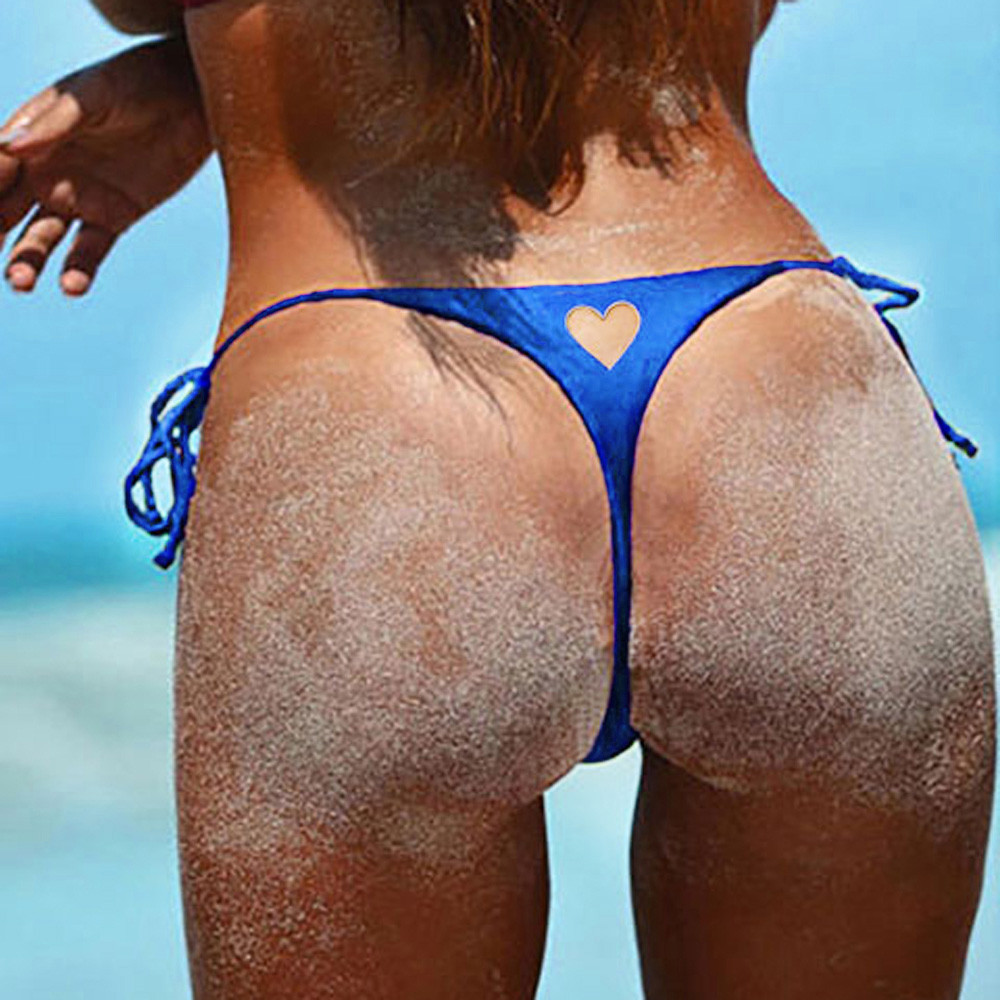 Roupa de praia feminina brasileira, fundo v, fio dental, maiô