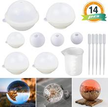 Сфера силиконовые формы для смолы круглая форма эпоксидных шаров