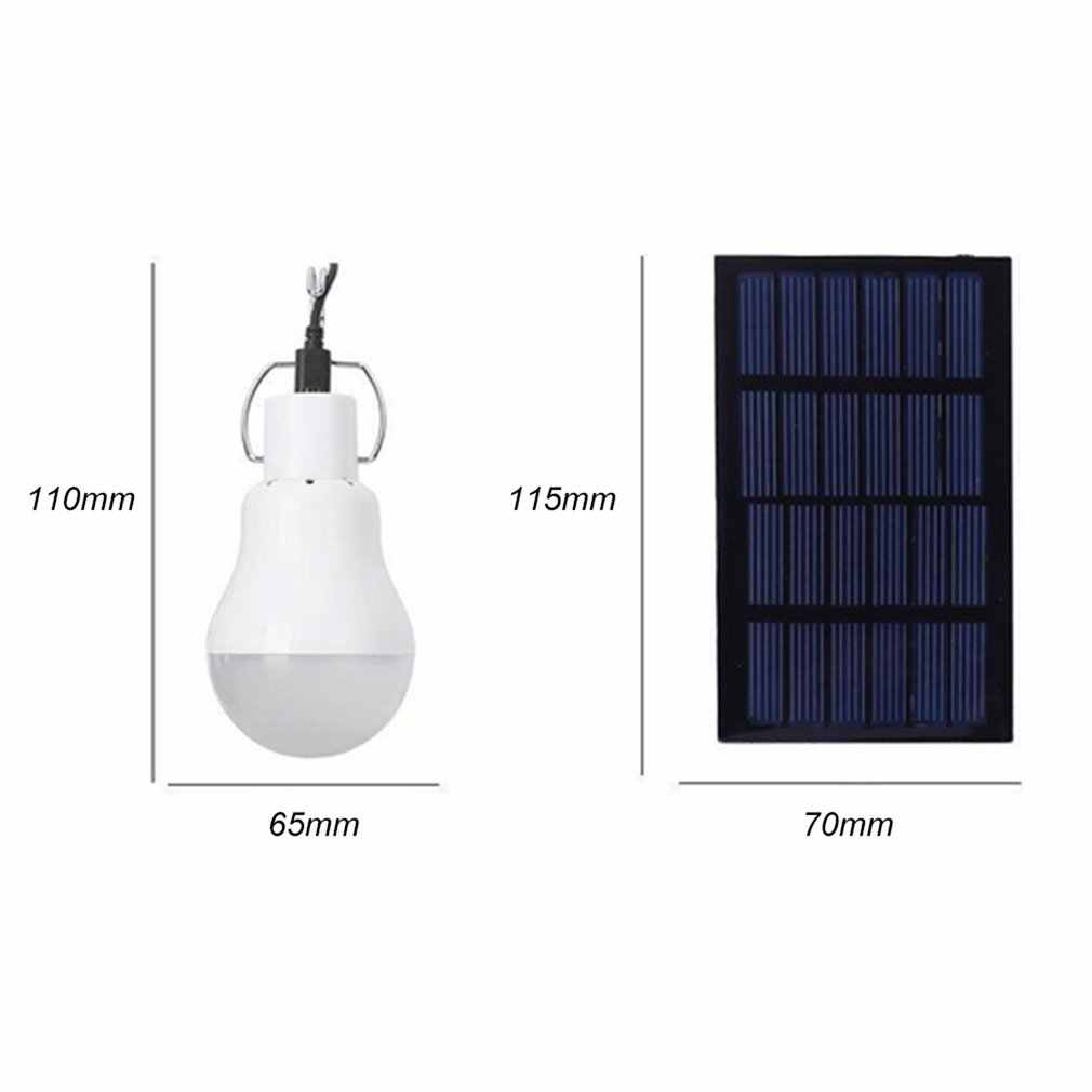 Luz LED para lámpara portátil de energía Solar con alta temperatura y resistencia de rotura para las actividades de emergencia al aire libre