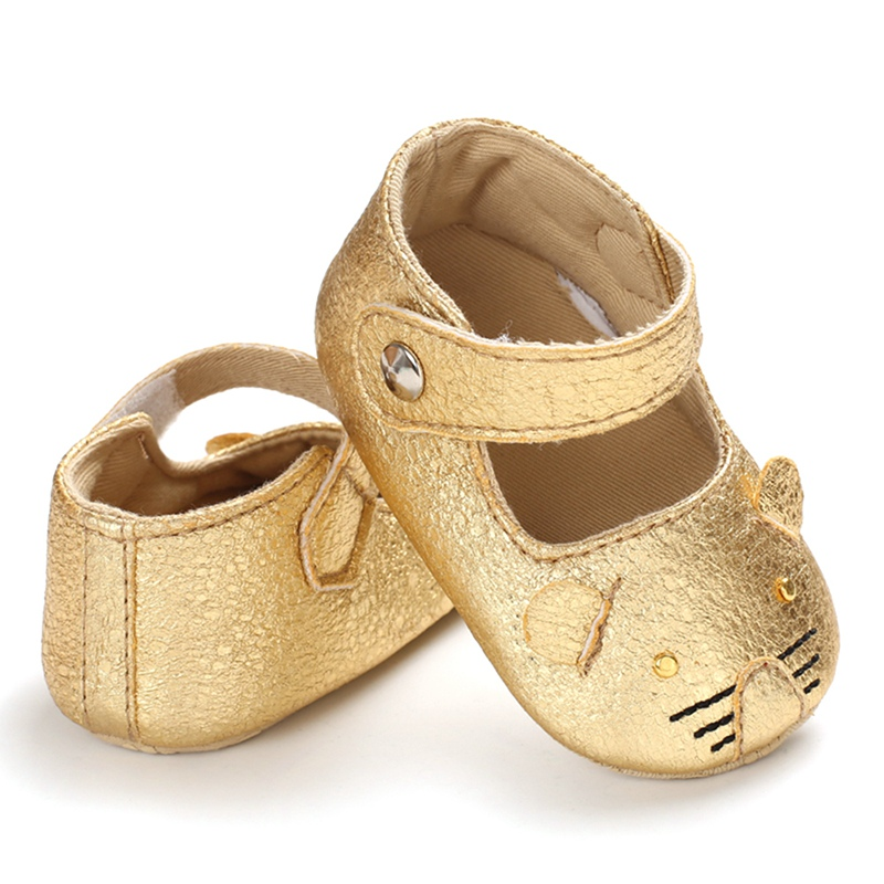 Breathable Baby Shoes Cartoon Cat Anti-Slip Sapatinho Bebe Soft Soled Girl Clothes First Walkers Toddler Girl Shoes Sapato Bebe