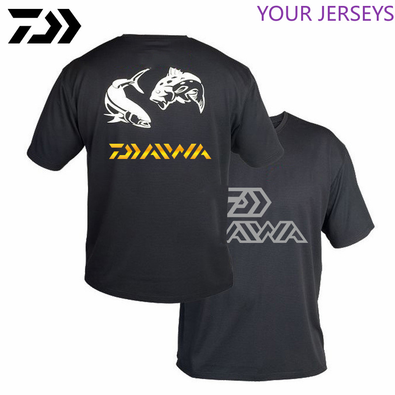 Daiwa Cawanfly Fishing T-shirt/ Fishing Clothing/ Outdoor Kleding Fishing Shirt Short Sleeve Sports Outdoor Fishing Wear For Men