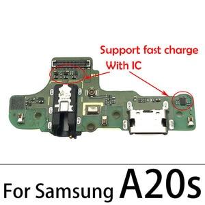 Image 3 - For Samsung Galaxy A10 A20 A30 A40 A50 A60 A70 A80 A202F A10s A20s A30s A50s A01 A11 USB Charging Connector Port Dock Flex Cable