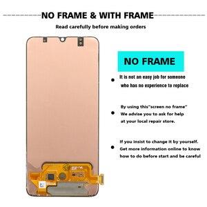 Image 2 - 100% SUPER AMOLED 6,7 pantalla LCD para Samsung Galaxy A70 A705 A705F SM A705MN montaje digitalizador de pantalla táctil + servicio paquete