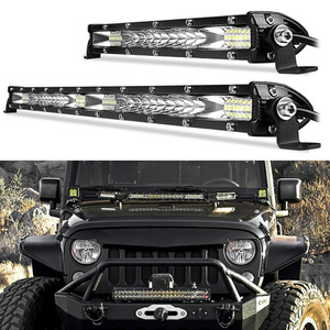 10/20 Inch DC12V 24V Offroad COB Led Light Bar Spot Flood Combo 78/156W Led Strip Work Light for Jeep Car 4WD Truck SUV ATV