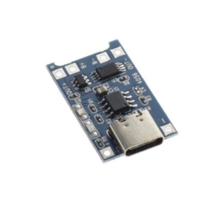 1A 1S Charging Protection Board Module TYPE-C For 3.7V/ 3.6V/4.2V/18650 Lipo Battery TYPE-C
