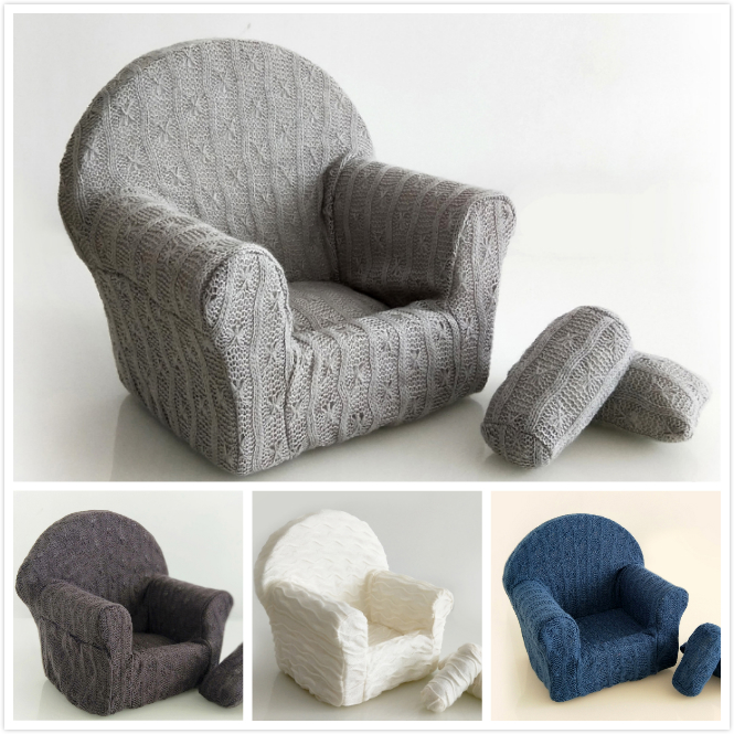 Newborn Baby Sofa Infant Posing Photography Prop Baby Shooting Accessories Photo Studio Auxiliary Props Many Colors