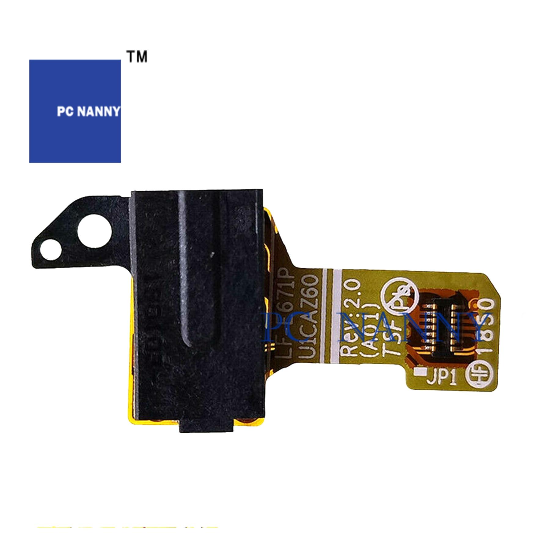 PCNANNY FOR Dell XPS13 9370 AUDIO JACK Board LF-E671P Test Good