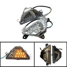цена на For Kawasaki Ninja300 EX300 300 ABS 2013-2017 Motorcycle Front Turn Signals Light Turning Lamp Shift Blinker Indicator Led Light