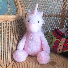 цена Hot 30cm/40CM Lovely Unicorn Plush Toy Pink Fly horse With Rainbow Wings Baby Kids Appease Doll Birthday Gift For Little Girl онлайн в 2017 году