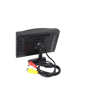 """Image 4 - Babi Zurück Spiegel Baby Auto Kid Monitor Ladegerät 5 Zoll TFT LCD 5 """"HD Digital Bildschirm Reverse Rückansicht kamera DVD VCD"""