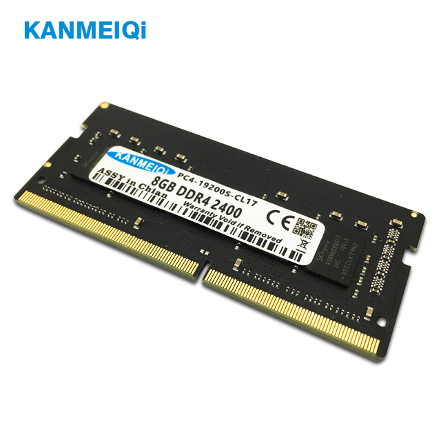 KANMEIQi ddr4 4GB ram 8GB 2133MHz 2400 MHz/2666 MHz 16gb sodimm זיכרון נייד תואם memoria מחברת 260pin 1.2v חדש