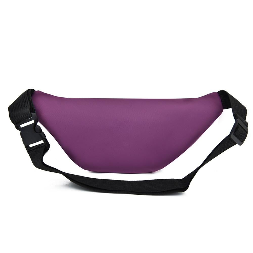 Women Ladies Female Waist Pack Zipper Adjustable Belt Solid Mini Shoulder Bag Crossbody Bag Sports Travel Cycling Casual  Bag 4