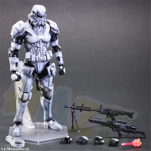 Play Arts Kai Variant Star Wars STORMTROOPER Figure Statue Toy Collectable In Box 27cm play arts kai square enix star wars boba fett figma movable playarts pa variant speelgoed action figure model