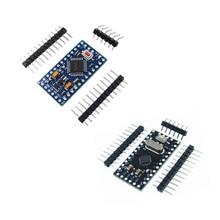10Pcs Pro Mini 168/328 Atmega168 5V 16M / ATMEGA328P MU 328P Mini ATMEGA328 5V/16MHz For Arduino Compatible Nano Module