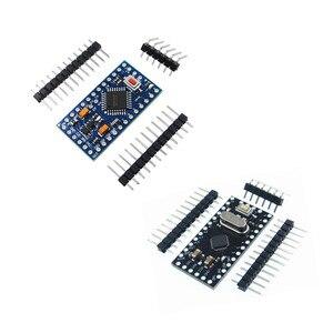Image 1 - 10Pcs Pro Mini 168/328 Atmega168 5V 16M / ATMEGA328P MU 328P Mini ATMEGA328 5V/16MHz For Arduino Compatible Nano Module