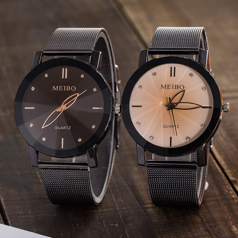 Watch Couple Watch Simple Couple Watch Unique Couple Gift Watch Leather Lover's Watches Simple Couple Watch Gifts Top band
