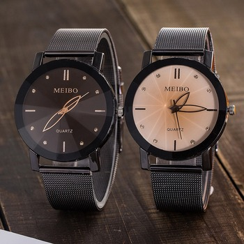 Watch Couple Watch Simple Couple Watch Unique Couple Gift Watch Leather Lover's Watches Simple Couple Watch Gifts Top band фото