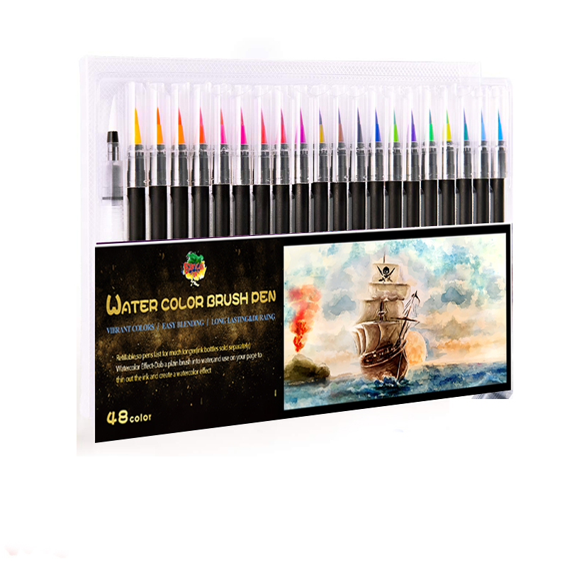 Art Marker Watercolor Brush Pens Set
