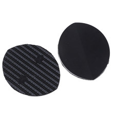 Mens Self-Adhesive DIY Stick On Shoes Sole Anti-Slip Black Hard-Wearing Mat Soles Pads Sticker for kitchen 1pair(China)