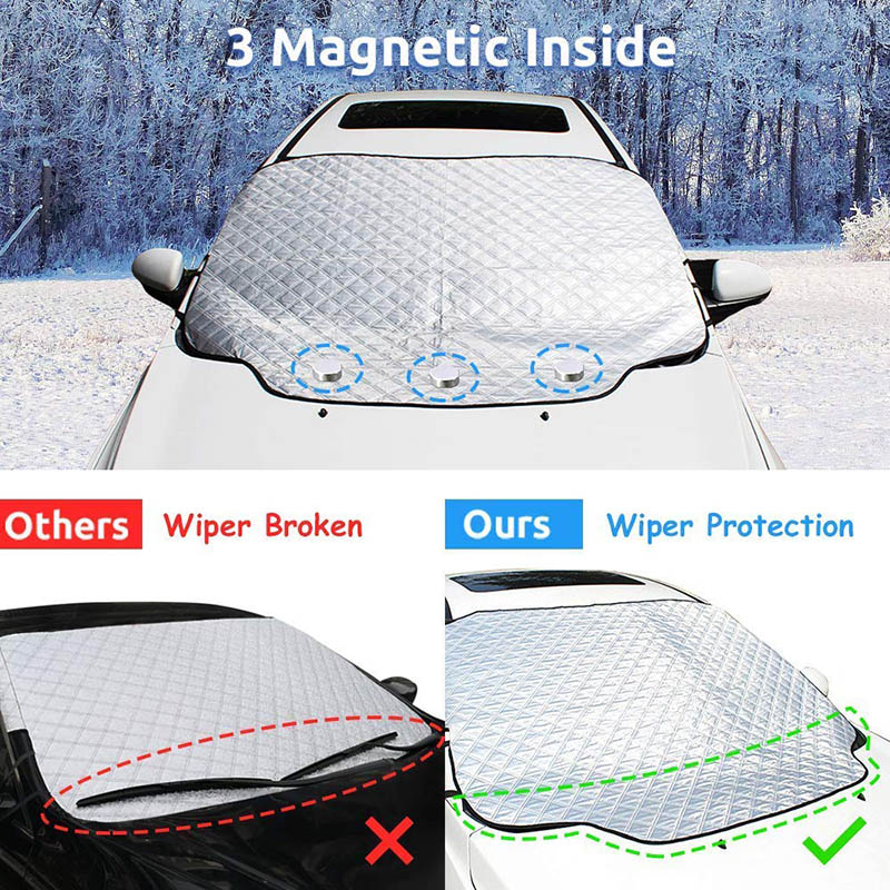 Car Windshield Snow Cover Waterproof Protection For Winter 4