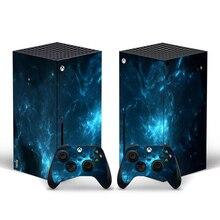 עבור Xbox סדרת X מדבקת מדבקות עור כיסוי עבור עבור Xbox סדרת X קונסולת 2 בקרים