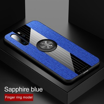 Case For Huawei P40 P30 P20 Pro P30 Lite Cover Car Magnetic Ring Holder Leather Case for Huawei Nova 6 SE Mate 20 Mate 30 10 Pro image
